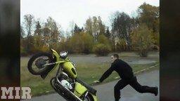 Русские мотоприколы смотреть видео прикол - 5:03