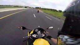Пуля-мотоциклист смотреть видео прикол - 0:11