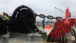 Потеря якоря на судне смотреть видео прикол - 2:08