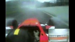 Смотреть Живая реакция гонщика