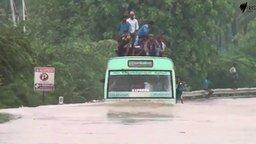 Отважный водитель автобуса