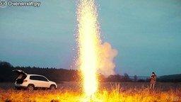 Смотреть Одновременный поджог 1000 бенгальских огней