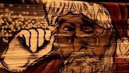 Смотреть Новогоднее граффити на плёнке