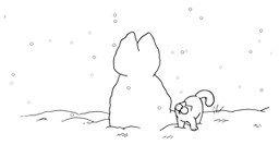 Смотреть Кот Саймона - Снежный кот
