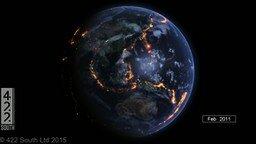 Смотреть Землетрясения за последние 15 лет