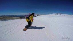 Смотреть Девчушки в 3 года на сноуборде