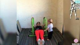 Спорт-мотивация для молодых мам смотреть видео - 2:33