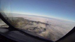 Посадка самолёта в туман смотреть видео - 2:17
