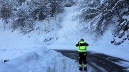 Смотреть Снежный оползень