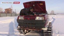 Смотреть Танк-самоделка Т-21099