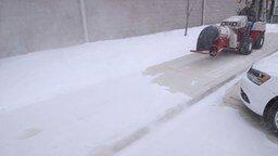 Смотреть Раздуватель снега