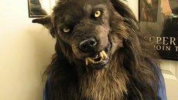 Смотреть Классная маска волка-оборотня