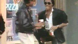 Майкл Джексон и Пепси смотреть видео прикол - 1:32