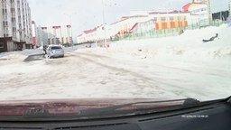 Сильный ветер в Ханты-Мансийске смотреть видео - 1:34