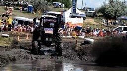 Смотреть Кадры с тракторных гонок