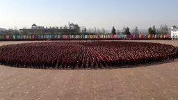 Смотреть Выступление учеников школы кунг-фу