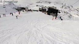 Самый безбашенный лыжник смотреть видео - 1:59