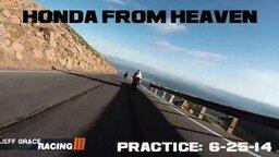 Смотреть Мотоцикл Прилетел с Горы