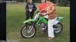 Смотреть Провалы новичков на мотоциклах