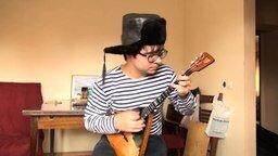 """Песня """"Снег"""" на балалайке и гитаре смотреть видео - 2:47"""