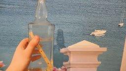 Смотреть Деревянная лестница в бутылке