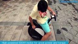 Китайский моноцикл смотреть видео прикол - 1:00