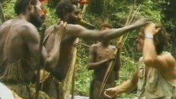 Племя знакомится с белым человеком
