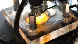 Смотреть Прозрачная головка цилиндра на мопеде
