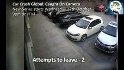 Самая болезненная парковка смотреть видео прикол - 0:59