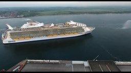Смотреть Крупнейший корабль для путешествий
