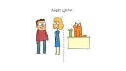 Смотреть Общее у девушек и кошек