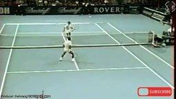Смотреть Акробатический теннис