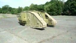 Точная копия боевого танка 1917 года