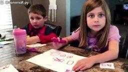 Смотреть Детские реакции на то, что родители съели их сладости - 1