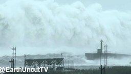 Смотреть Величественные океанские волны
