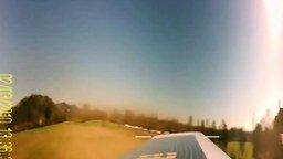 Смотреть Панорама с ротора вертолёта