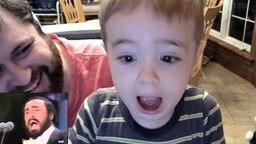 Мальчик без ума от оперного тенора смотреть видео прикол - 0:48