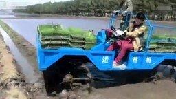 Китайский вездеход смотреть видео прикол - 0:56