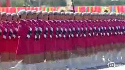Военный парад в Китае смотреть видео - 1:33