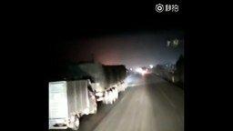 Как грабят грузовики в Китае смотреть видео прикол - 0:38