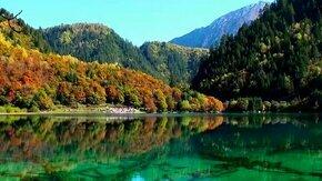 Долина Цзю Чжай Гоу в Китае смотреть видео - 3:44