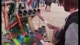 Смотреть Уличный трубач-диджей