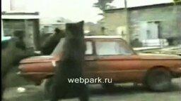 Мишки против Запорожца смотреть видео прикол - 0:58