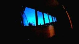 Смотреть Необычное свечение ночью