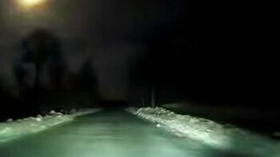 Смотреть Метеорит над Архангельской областью
