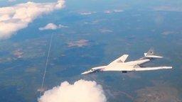 Один в бескрайнем небе ТУ-160 смотреть видео - 3:45