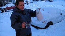 Смотреть Кипяток на 30-градусном морозе