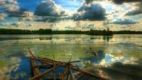 Смотреть Красивое небо в интервальной съёмке