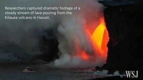 Смотреть Прорвало вулкан