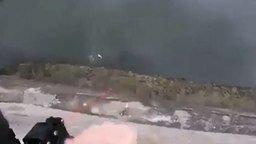 Ловкий рыбак-охотник смотреть видео - 0:32